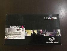 GENUINE TONER  Lexmark original cartouche (MAGENTA) C5240MH C524 C532 C534