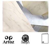 50 Artoz Papier Perle Doppelkarten Faltkarten Klappkarten Farbwahl DIN A5 250g