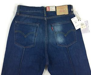 Levis Vintage Clothing LVC 701 Pin Tuck Selvedge Jeans Size 29 Big E Denim $198