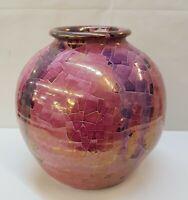 Vaso a Sfera CLAUDIO PULLI Sardegna Arte Sarda cm 22 in Ceramica