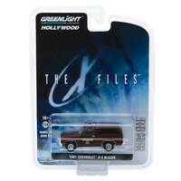 """Hollywood Series 25: 1981 Chevrolet K-5 Blazer """"The X Files"""" 1/64 Scale"""