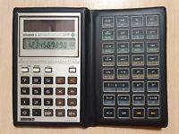 Scientific Calculator CASIO fx-451, wissenschaftlicher Solar-Taschenrechner #624