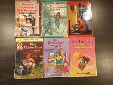 6 Chapter Books Sachar Apple The Birthday Wish Mystery Stepping Stone Book
