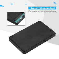 "USB 2.0 Hard Drive External Enclosure 2.5"" IDE HDD Mobile Disk Box Case Cover"