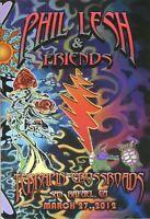 Phil Lesh & Friends Terrapin Crossroads Poster TXR, Warren Haynes 3/27/2012