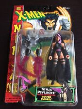 Vintage 1996 Toy Biz X-Men Ninja Force Psylocke Marvel Legends