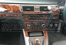 BMW 3 SERIES e90 e91 e92 4 DOOR 2 DOOR INTERIOR WOOD DASH TRIM KIT SET 06 07 08