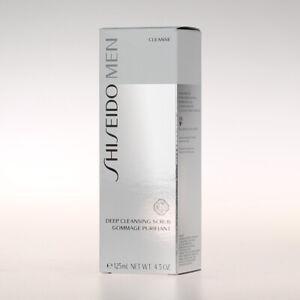 Shiseido Men Deep Cleansing Scrub - Gesichtspeeling 125ml
