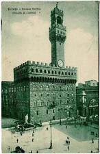 1924 Firenze - Pal. Vecchio VOTATE LA LISTA NAZIONALE Fossano FP B/N VG ANIM