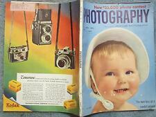 PHOTOGRAPHY 1952 APRIL PHOTOGRAPHY POPOULAR PHOTOGRAPHY MAGAZINE VOL 30 NO 4