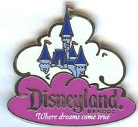 Disney CME AAA Vacation DLR Where Dreams Come True Sleeping Beauty Castle Pin!
