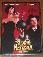 Boris and Natasha the Movie (DVD, 1999) New Factory Sealed FREE US Shipping