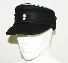 WWII GERMAN WH ELITE OFFICER M43 PANZER WOOL FIELD CAP L -3763