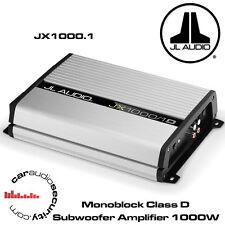 JL Audio JX1000/1D Monoblock Class D Subwoofer Amplifier 1000W Bass Amp JX1000.1
