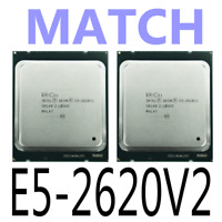 MATCH Intel Xeon E5-2620 V2 E5-2620V2 2.10GHz 6Core LGA2011 CPU Processor