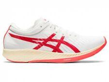Asics Women Running Shoes METARACER 1011A676 White/Sunrise red