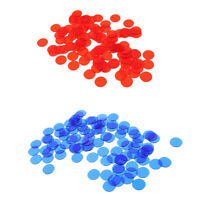 1000Pc Plastic Poker Chips Bingo Board Game Markers Tokens Toy Xmas Gifts