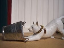 Jaapi BROWN/GOLD cat collar for Breyer Companion Animal, not for real cats