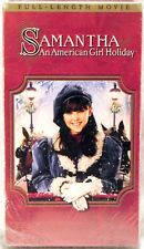 SEALED WARNER VHS 2004 Samantha: An AMERICAN GIRL Holiday with Booklet 4580