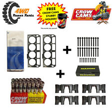 GM LS3 L98 Head Gaskets & Bolts (2 Length) + Genuine LS7 Lifters & Guides Kit