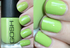 New! GOSH Nail Color Nail Polish EARLY GREEN ~ spring / lime green #606