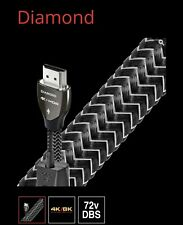 AudioQuest Diamond 1m Braided HDMI Cable with High Speed Ethernet