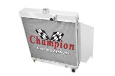 3 Row Ace Champion Radiator for 1965 1966 Dodge Dart Slant 6 Engine