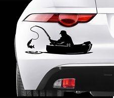FISHING Car VINYL STICKERS Bumper Van Window Laptop JDM DECALS