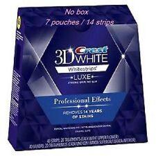 CREST 3D Professional  Effect Whitestrips Teeth White Strips - 7pouches/14stri