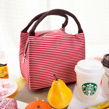 1PC Portable Insulated Thermal Cooler Lunch Box Carry Picnic Case Storage Bag