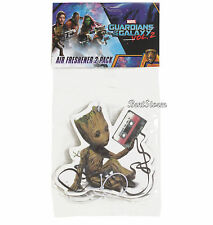 Guardians of the Galaxy Vol 2. BABY GROOT TAPE 2 PACK HOME CAR Air Freshener NIP