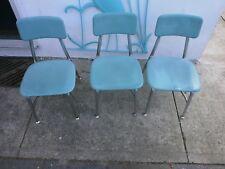 Lot of 3 Vintage Heywood Wakefield Hey Woodite Children's Pre School Chairs