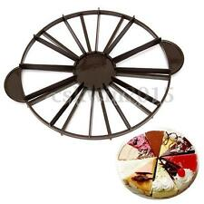 Slice Cake Pie 10/12 Piece Equal Portion Marker Divider Cutter Party Birthday