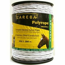 Zareba Pr656w6 Z Polyrope 200 Meter 6 Conductor Portable Electric Fence Rope