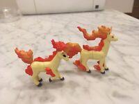 Pokemon TOMY CGTSJ Ponyta Rapidash PVC Figure Lot 90's Gen 1 Original Nintendo