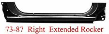 73 87 RIGHT Chevy & GMC Extended Rocker Panel OEM Type, Goes Into Jambs 898-03R