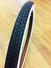 """Raleigh Whitewall 16"""" x 1.75"""" Old School BMX Freestyle Tyre"""