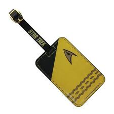 Star Trek The Original Series Gold Luggage Tag by the Coop. New w/tags