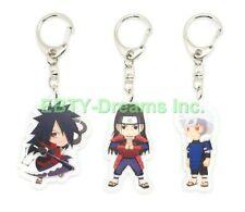 Kiba Hyuuga Hinata Set of 3 Naruto Anime Acrylic Keychain Shino Aburame