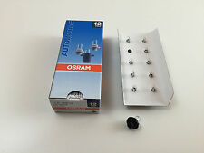 10x OSRAM 12V 1,2W BX8,4D LAMPE 2351MFX6 LAMPE LEITERPLATTENBAU INNENRAUMLEUCHTE