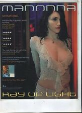 "1998 ""Madonna - Ray of Light"" Lp Counter display card scarce easel back"