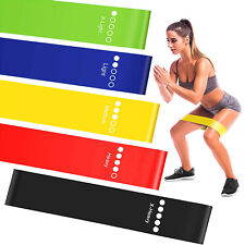 Resistance Bands Set Home Workout Exercise Gym Abs Yoga Fitness Training