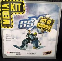 N-Gage SSX-Out Of Bounds-Rare Media Kit: Promo - factory sealed! NEW!