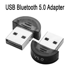 USB 5.0 Bluetooth Adapter Wireless Dongle High Speed for PC Windows Computer US