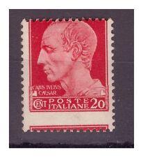 REGNO 1929 - IMPERIALE Cent.  20  - VARIETA' DENTELLATURA SPOSTATA **
