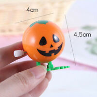 Plastic Mini Jumping Pumpkin Wind Up Toys Clockwork Toy For Kids Toy Gifts