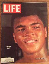 LIFE Magazine March 6 1964 CASSIUS CLAY AKA MUHAMMAD ALI FREE SHIPPING