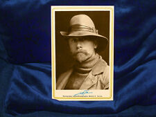 EDWARD S. CURTIS Photographic Legend Cabinet Card Photograph Vintage Reprint
