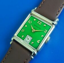 Exquisite Vintage 1948  Mans Hamilton *ASHLEY* Hand Winding 2Tone Dial SERVICED!