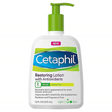 New Cetaphil Restoring Lotion With Antioxidants For Aging Skin, 16 oz